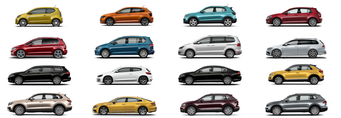 Modelle Volkswagen