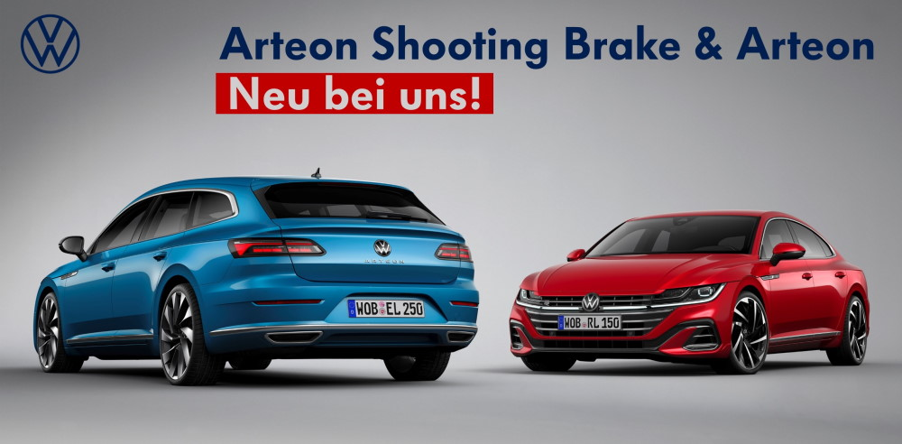 VW Arteon Shooting Brake mobil