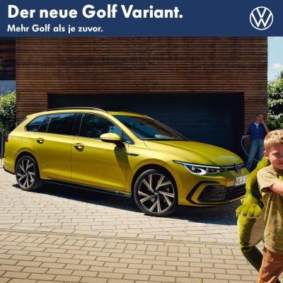 VW Golf Variant NEU 2020