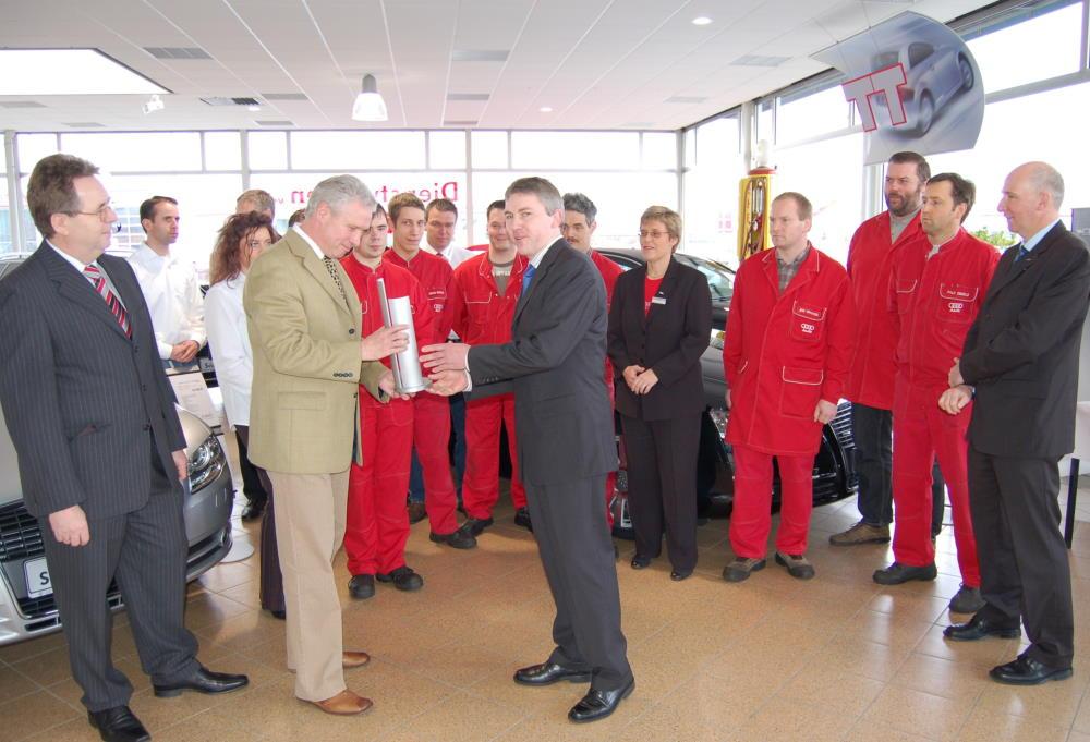 Audi Top Service Partner 2007